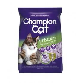 Arena Sanitaria Champion Cat Silica Aglomerada 1.8 kg