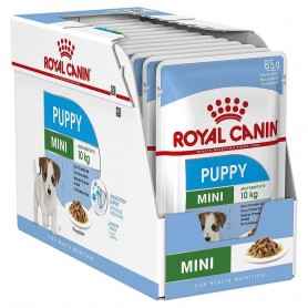 Pouch Mini Puppy 85 grs Pack 12 unidades