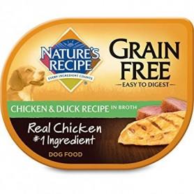 Alimento Humedo Natures Recipes Pollo y Pato