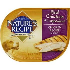 Alimento Humedo Natures Recipes Pollo