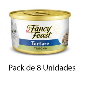 Fancy Feast Tartare Atun 8 unidades