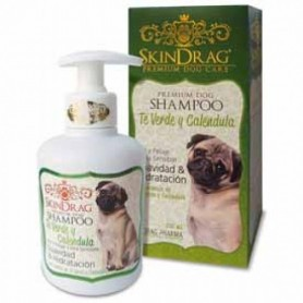 Shampoo SkinDrag Te Verde y Caléndula