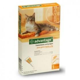 Advantage para gatos hasta 4kg