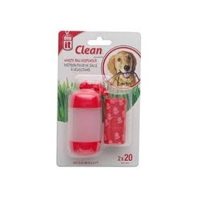 Dispensador recoge fecas Rojo dog it