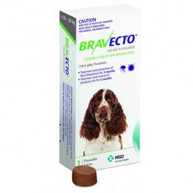 Bravecto 10 a 20 kg