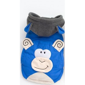 Poleron Monkey Blue Medium