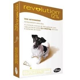Revolution 12% Perros hasta 5 a 10 kg