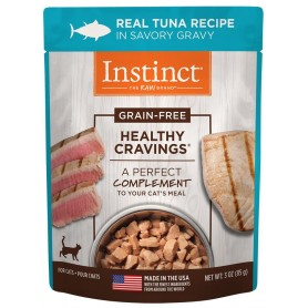 Instict Pouch Real Tuna Recipe para Gatos