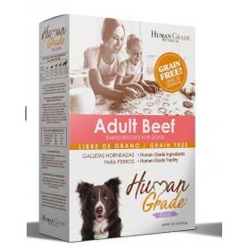 Galletas Human Grade Grain Free Adulto Sabor Beef