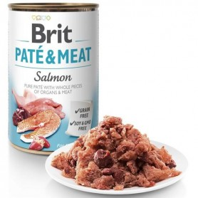 Brit Salmon Pate and Meat