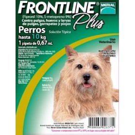 Frontline Pipeta para Perros hasta 10 kg