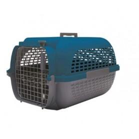 "Transportadora Dog It Voyaguer ""M"" Azul/Gris Oscuro"